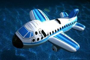 Avión Inflable Para La Playa O Piscina De 2 Personas