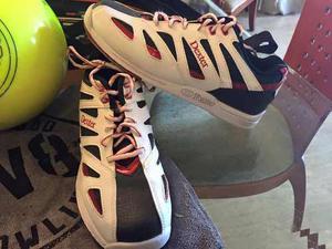 Bola De Bowling Reactiva Nueva Sin Perforar + Zapatos Dexter