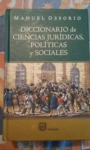 Diccionario de Ciencias Jurídicas