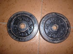 Discos para Pesas 10libras