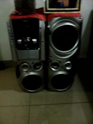 Equipo De Sonido Panasonic Modelo Sak640