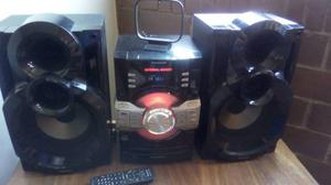 Equipo De Sonido Panasonic Sa-akx36