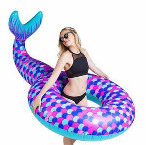 Flotador Inflable Modelo Sirena Gigante