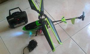 Helicoptero A Control Remoto Grande Muy Poco Uso Barato