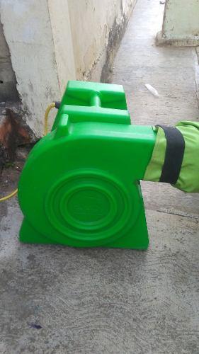 Motor Soplador Turbina De Castillo Inflable