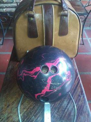 Pelota De Bowling Con Estuche