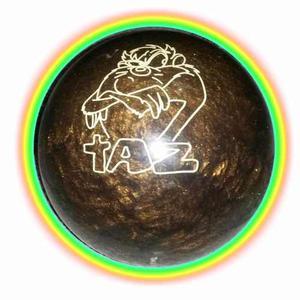 Pelota De Bowling Warner Bros Made In Usa + Funda