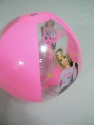 Pelota Inflable Infantil De Playa Piscina Barbie 30 Cm