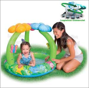 Piscina inflable para intex con parasol posot class for Piscina inflable intex para bebe