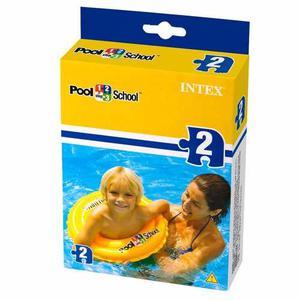 Salvavida Flotador Aro Intex De 51cm Niños+ Pelota Gratis