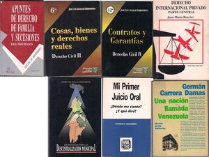 VENDO LIBROS DE DERECHO Y POLITICA IDEAL PARA ESTUDIANTES