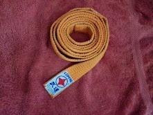 Cinta De Karate Naranja Nº 1