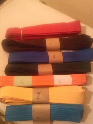 Cintas De Karate Cinturones