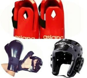 Equipo Set De Protectores De Karate Marca Macho 2 Set Import