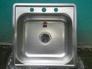 Lavaplato fregadero 53x53 fanaimox posot class for Fregaderos de aluminio