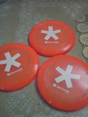 Fresbee Color Naranja Nunca Usados