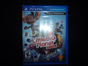 Juego Little Big Planet Para Ps Vita Nuevo
