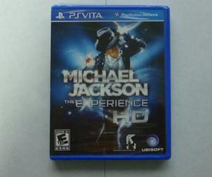 Juego Michael Jackson Para Ps Vita Nuevo