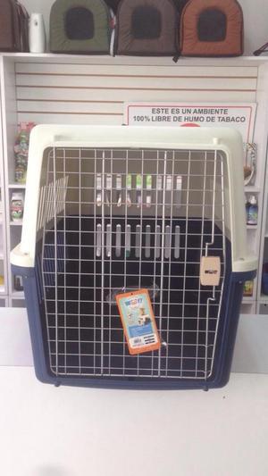 Kennel Viajero para Perros Medianos