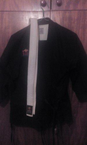 Kimono Bushido Negro Perfecto Estado