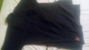 Kimono Chaqueta Talla 8 Negro Negra Kenpo