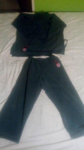 Kimono De Karate Bushido Talla 6 Kenpo Negro