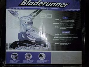 Patines En Línea Bladerunner Pro 80 W, Talla Us 7.nuevos