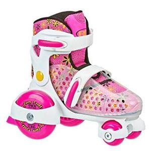 Patines Roller Derby Ajustables Para Niña