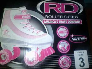 Patines Roller Derby Talla 3