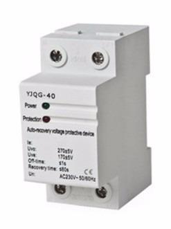 Protector Voltaje 220v Mono 40a 40 Amperios Motor Aire Acond