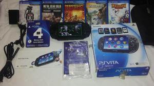 Psvita Wifi Memoria De 4gb Y 5 Juegos Fisicos Como Nuevo