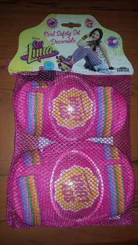 Set De Proteccion Soy Luna Rodillera, Codera, Nuevo Sellado