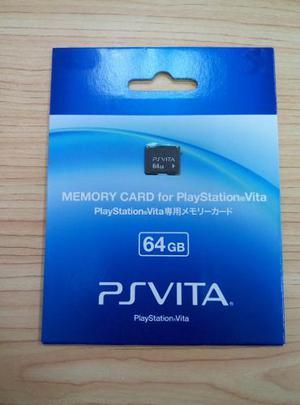 Tarjeta De Memoria 32 Y 64 Gb Para Playstation Psvita