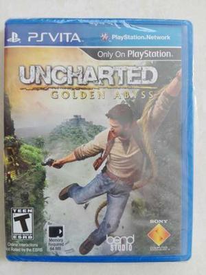 Uncharted Golden Abyss Edición Especial Psvita Nuevo!!!