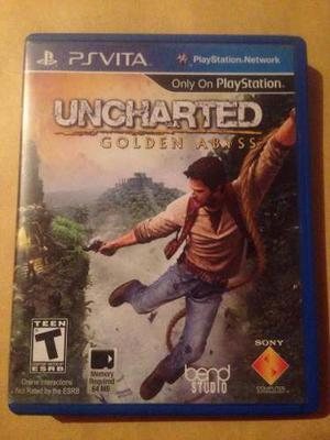 Uncharted Golden Abyss Psp Vita
