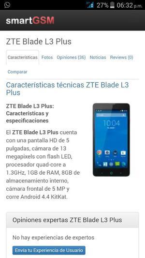 Zte V5 Blade Plus L3