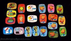 Calcomanias De El Mundial De Futbol España 82 Naranjito