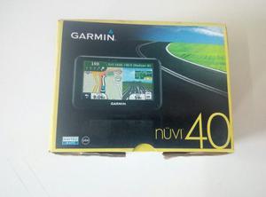 Gps Garmin Nuvi 40. Con Estuche Y Memoria De 4gb. Como Nuevo