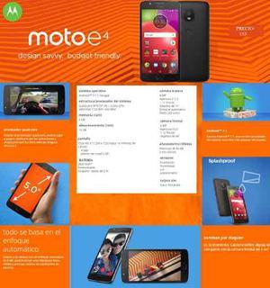 Moto E4 2gb Ram + 16gb Memoria + Android Puro 7.1 + Fingerpr