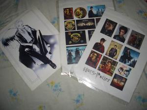 Set De Calcomanias Recortables De La Serie Harry Potter