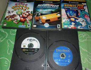 5 Juegos Nintendo Gamecube Para Reparar / Pulir