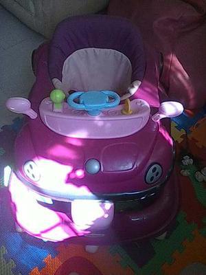 Andadera Carro Para Niñas Con Sonido