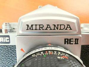 Camara Reflex 35mm Miranda Re-ii
