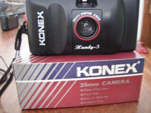 Cámara Fotográfica 35mm Nueva En Su Caja