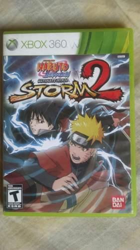 Juego De Xbox 360 Naruto Storm Original