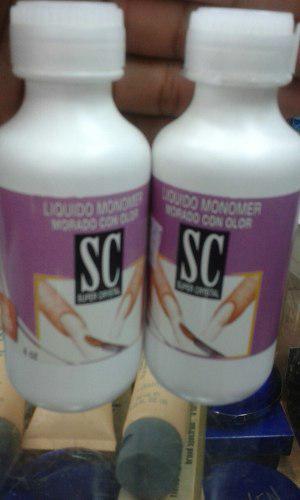 Liquido Monomer Morado Super Cristal 4 Oz Nueva Presentacion