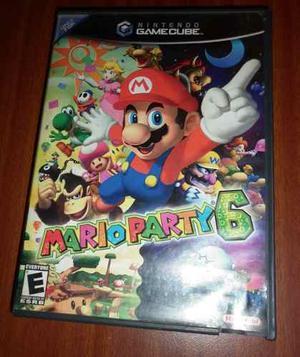 Mario Party 6 Nintendo Gamecube Error De Lectura
