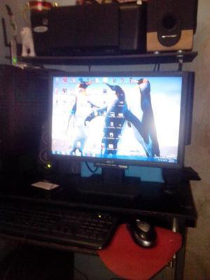 Monitor Acer De 19 Plg Detalle De Botones Insignificante
