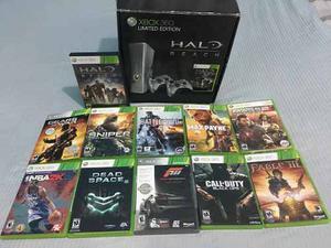 Xbox 360 Slim Edición Especial Halo Limited Edition (nuevo)