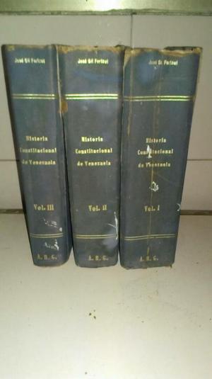 3 T Historia Constitucional de Venezuela